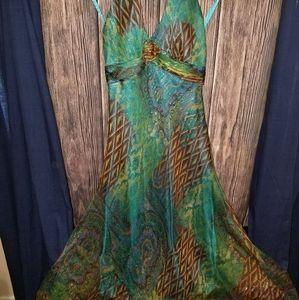 Silk Dress Size 10